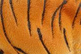 Artificial skin of tigre. — Stock Photo