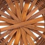 Background of bottom wicker basket. — Stock Photo