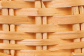 Detail of interlaced rattan fibers. — Stock Photo
