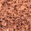 Stock Photo: Grated chocolate. Macro.