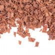 Stock Photo: Grated chocolate.