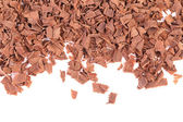 Grated chocolate. — Stock Photo
