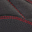 Stock Photo: Background of leather stitches detail.