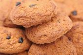 Tło otmeal ciasteczka — Zdjęcie stockowe