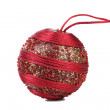 Decorated christmas ball. — Stock Photo