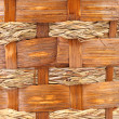 Stock Photo: Background of vintage weave wicker basket