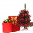 Christmas Tree and Gifts. — Foto de Stock
