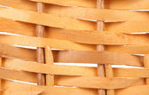 Detail of interlaced rattan fibers. — Stock Photo