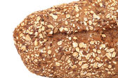 Close up of bread made from whole grain. — Stock Photo