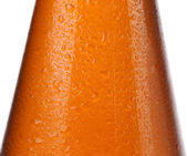 Close up of bottle with beer. — Stock Photo