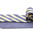 Two rolled ties isolated on white — Stock Photo #32905079