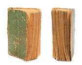Dvě strany knihy starých stránek. — Stock fotografie