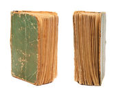 I due lati della vecchia prenotare pagine. — Foto Stock