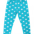 Stock Photo: Child pants in stars.