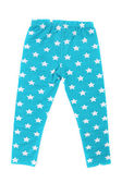 Child pants in stars. — Stock Photo