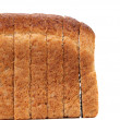 Rye bread isolated — Foto Stock