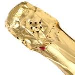 Bottleneck of champange. — Stock Photo