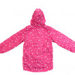 Pink jacket with hood. — Stock Photo