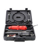 Toolbox with drill — Foto de Stock