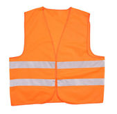 Safety orange vest. — Stock Photo