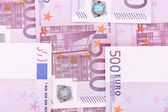 Close up of five hundred bills. — Stock Photo