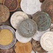 Close up of old coins. — Stock Photo