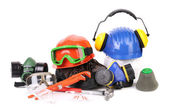 Varios safety equipment. — Stock Photo