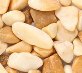 Pebbles as a stone texture. Close up. — Stock Photo