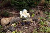 Close up of garden gnome. — Stock Photo