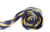 Rolled up man's ties as spiral. — Foto Stock