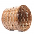 Stock Photo: Vintage weave wicker basket