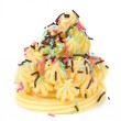 Cake topped with sprinkles. — Stock Photo #35049889