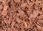 Chocolate shavings texture. — Foto Stock