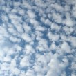 Feather clouds on the blue sky. — Stock Photo
