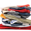 Pile of protective gloves — Stockfoto