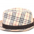 Checked hat. — Stock Photo
