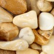 Pebbles as a stone texture. — Stock Photo