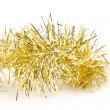 Tinsel. Christmas decoration. — Zdjęcie stockowe