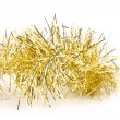 Tinsel. Christmas decoration. — Stock fotografie
