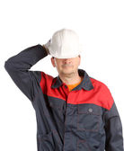Worker having rest. — Stock Photo
