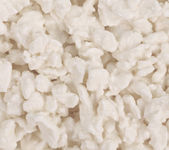 Cottage cheese close up. — Stock Photo