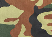 Close up of camouflage pattern. — Stock Photo