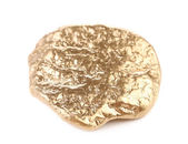 Close up of gold nugget. — 图库照片
