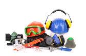 Varios safety equipment. — Stockfoto
