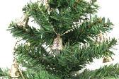 Backgroud of Christmas tree — Stock Photo