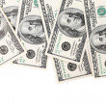 Hundred Dollar Bills. — Stock Photo