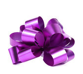 Purple packaging band. — Stock Photo