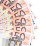 Fan of 50 euro notes. — Stock Photo #40775001