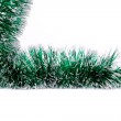 Christmas green tinsel. — Stock Photo #40775509