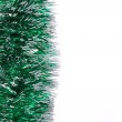 Christmas green tinsel. — Stock Photo #40775521